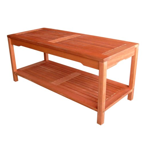 VIFAH V434 Outdoor Wood Sofa Table