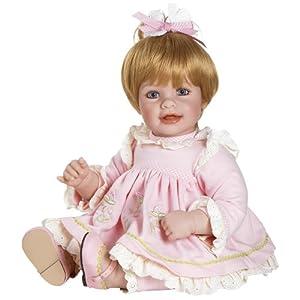 "Adora Baby Doll, 20 inch ""Rosebud"" Blonde Hair/Blue Eyes"