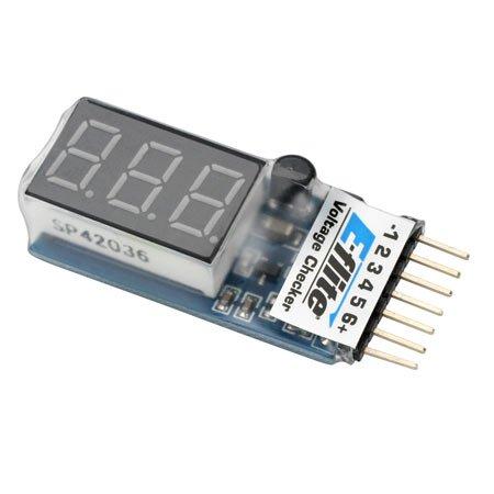 E-Flite Li-Po Cell Voltage Checker EFLA111