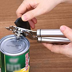 304 Stainless Steel Can Opener Tin Opener Multi-function Bottle Opener Kitchen Tools