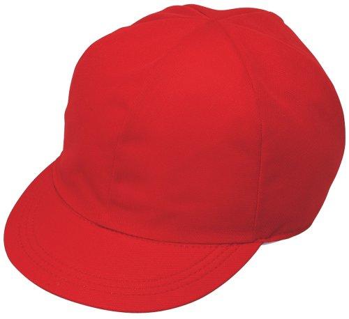Ctswa STAD mesh red white hat polyester KR002