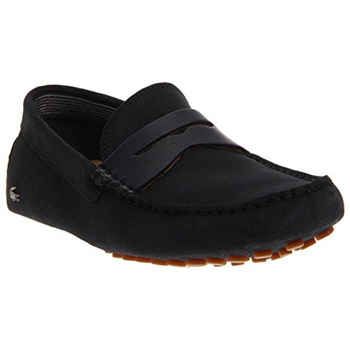Lacoste Men's Concours 18 Srm Slip-On Loafer, Navy, 10.5 M US