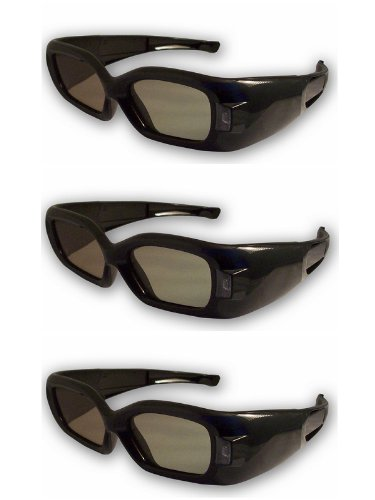 3DTV Corp DLP LINK 3D Glasses-THREE for ALL 3D