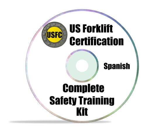 Forklift Certification Kit - English And Spanish - Everything You Need To Certify An Unlimited Number Of Operators