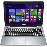 Asus X555LA-XO080H Notebook, 15.6 Pollici con Risoluzione 1366x768 LED, Processore Intel Core i5-4210U, RAM 4 GB, Hard Disk 500 GB, S-Multi DL, Windows 8.1,  Nero/Antracite