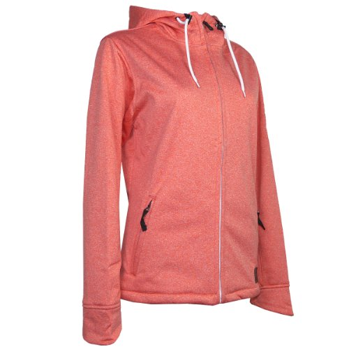 WLD LOVELY DAY WOMEN SOFTSHELL JACKET 2013/14 Damen Softshell Jacke 176019 (PINK MELANGE, M/38)