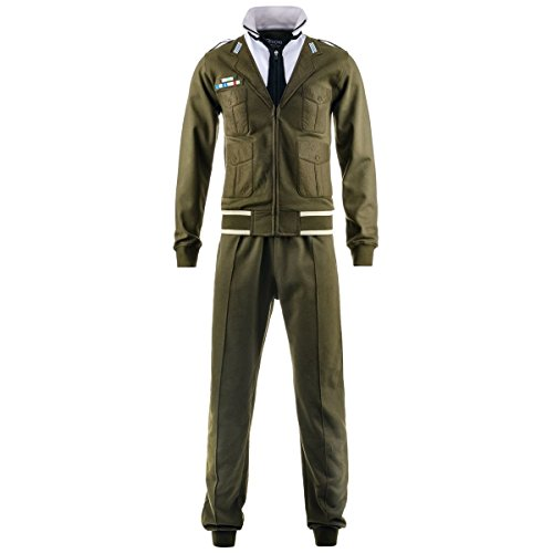Tuta sportiva - TAILOR TKS UNIFORM ARMY - Kappa - L - Military Green
