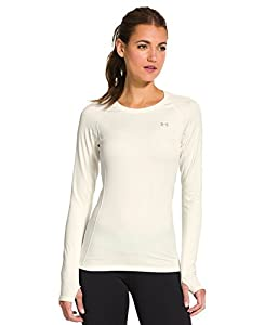 Under Armour Women's ColdGear® Cozy Crew Small Ivory