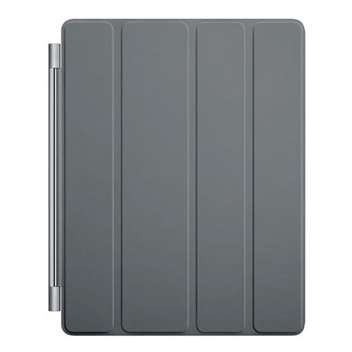 【アップル 純正】Apple iPad 2 & The New iPad (第 3 世代) Smart Cover スマートカバー ポリウレタン製 【 ダークグレー Dark Grey 】