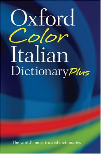 Oxford Color Italian Dictionary Plus