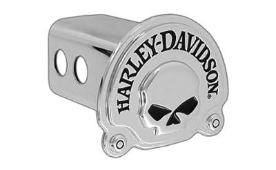 Harley Davidson 3D Skull Sold Metal Hitch Cover