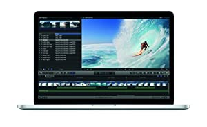 Apple MacBook Pro Retina Display MC976D/A 39,1 cm (15,4 Zoll) Notebook (Intel Core i7 3720QM, 2,6GHz, 8GB RAM, 512GB Flashspeicher, NVIDIA GT 650M, Mac OS)