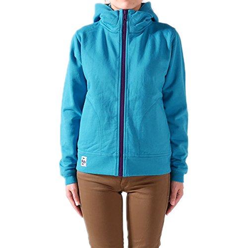 CHUMS チャムス フルジップ フード スウェットジャケット Full Zip Hooded Jacket II CH10-0555 スウェット スエット ジップアップ パーカー 長袖 レディース 正規取扱品 (WM, 6.Blue(7526))