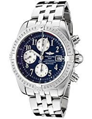 Men's Windrider Automatic/Mechanical Chronograph Blue Dial Stainless Steel