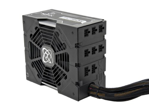 XFX P1-750B-UKB9 750W Edition Modular Power Supply - Black