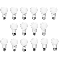 16-Pack Philips 60 Watt Equivalent Daylight A19 LED Light Bulb
