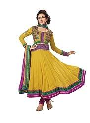 Adah Semi Stitched Georgette Salwar Kameez- 359-5204