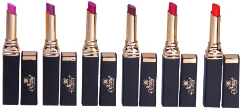 SHANY Cosmetics SHANY Cosmetics Smooch Collection Lipstick Set No.1, 6 Count