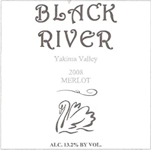 2008 Black River Winery Merlot 750 mL
