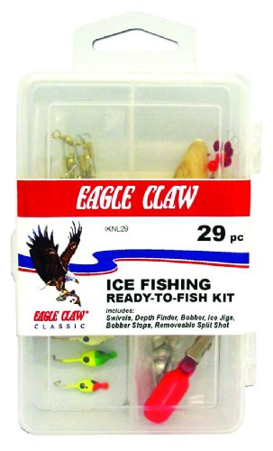 29 - Pc. Eagle Claw® Ice Fishing Kit