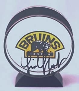 Tim Thomas Boston Bruins Autographed Acrylic Puck by Your+Sports+Memorabilia+Store