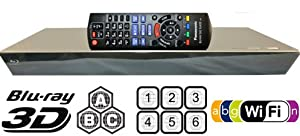 Int'l Version PANASONIC BDT330 2K/4K Smart Network All Region DVD Blu ray Player 2D/3D - 100~240V 50/60Hz Auto (6Feet HDMI Cable)