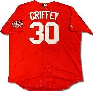 Ken Griffey Jr. Autographed Jersey - Practice 92130 - Upper Deck Certified -... by Sports+Memorabilia