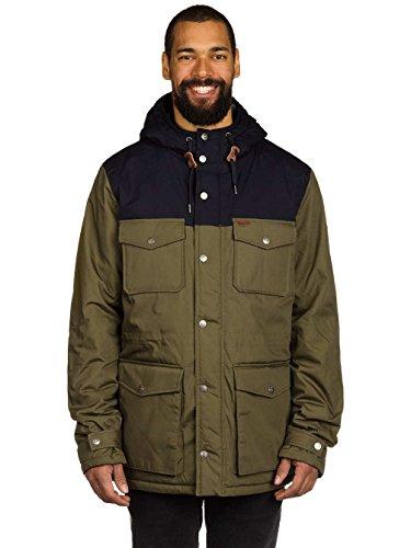 Element Hemlock 2 Tone Jacket Military Green Large