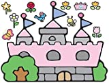 Hello Kitty Princess Castle Peel and Stick Giant Wall Decal