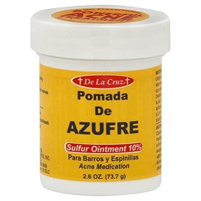 Best Cheap Deal for Pomada De Azufre Sulfur Ointment By De La Cruz from De La Cruz - Free 2 Day Shipping Available