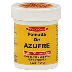 De La Cruz Sulfur Ointment Cream(2.6 oz)