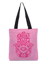 Snoogg Sequential Cute Girls Poly Canvas Tote Bag
