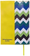 【Amazon.co.jp限定】JSFオリジナルブックカバー 文庫サイズ ジグザグ ブルー (journal standard Furniture)
