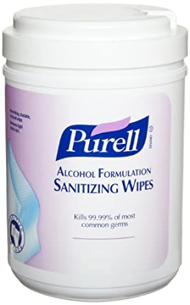 PURELL Alcohol Formulation Sanitizing Wipes