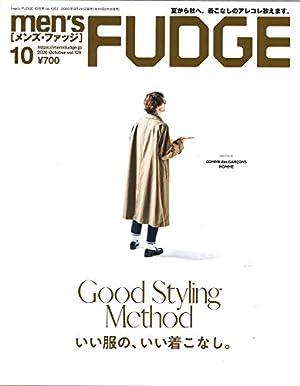 men's FUDGE - メンズ ファッジ - 2020年 10月号 Vol.125 (日本語) 雑誌