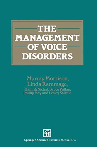 Management of Voice Disorders (Hodder Arnold Publication)