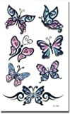 Butterflies Temporary Tattoo #76