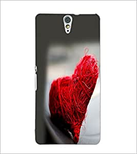 PrintDhaba Heart D-2232 Back Case Cover for SONY XPERIA C5 ULTRA (Multi-Coloured)