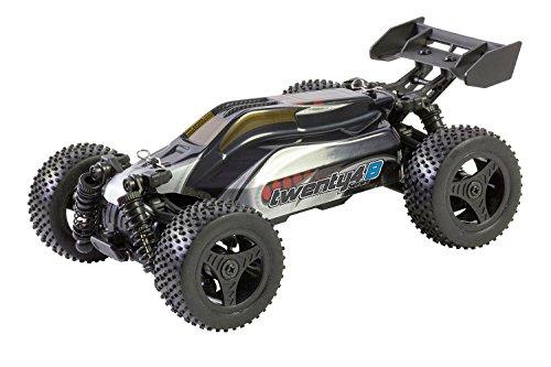 XciteRC-30608000-Buggy-twenty4-B-V20-4WD-RTR-Modellauto-silberrot