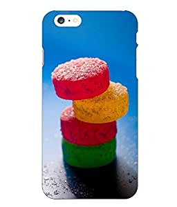 Snazzy Abstract Printed Colorful Hard Back Cover For Iphone 6 Plus