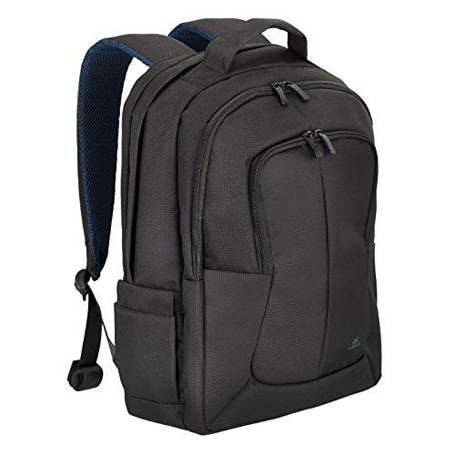 "RivaCase 8460 Black Bulker Laptop Backpack 17"", Zaino per Laptop Fino a 17"", Nero"