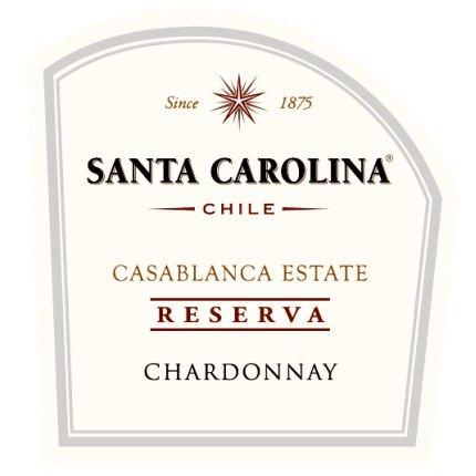 2010 Santa Carolina Reserva Chardonnay Chile 375 Ml Half Bottle