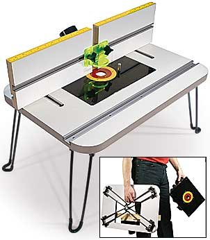 MLCS Portable Benchtop Router Table