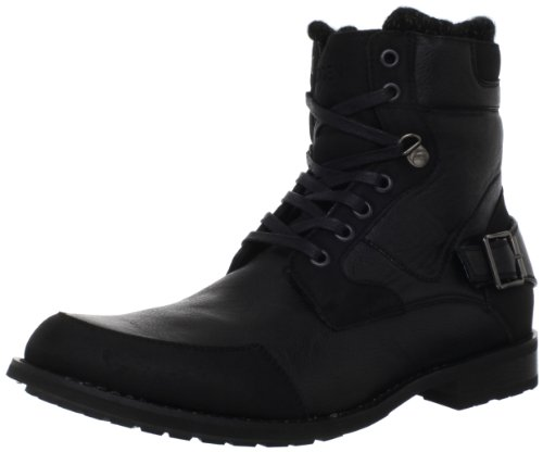 Madden Men's M-Retro Lace-Up Boot,Black,7.5 M US
