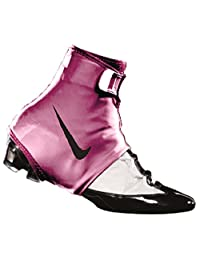 Nike STR8 Jacket Football Spat (1 Pair, XL, Pink/Black)