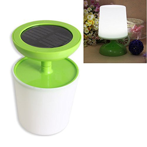 Toogoo(R) Indoor Solar Potted Led Desk Table Reading Lamp Good For Bedtime Protecting Eyes Gift