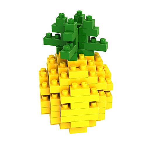 LOZ mini Diamond blocks building set - Pineapple - 1