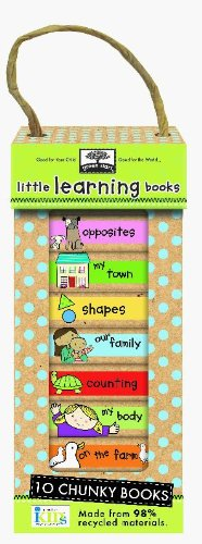 Green Start Book Towers: Little Learning Books: 10 Chunky Books Made From 98% Recycled Materials front-457855