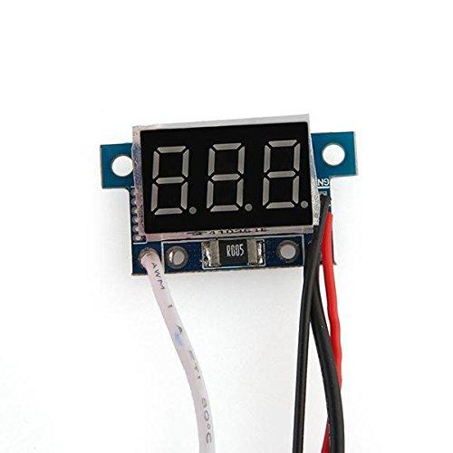 Digital Ammeter Amp Panel Meter Amperemeter 0-5A Red Led Display