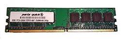 2GB Memory for HP MediaSmart Server EX470 / EX475 DDR2 PC2-5300 667MHz DIMM NON-ECC RAM Upgrade (PARTS-QUICK BRAND)